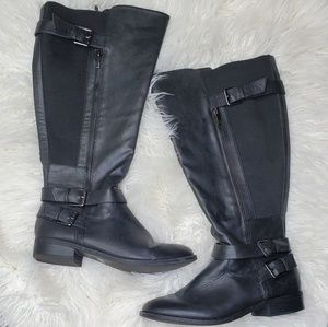 Torrid wide calf faux leather riding boots